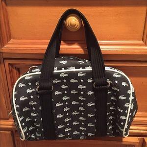 Super cute Lacoste handbag.